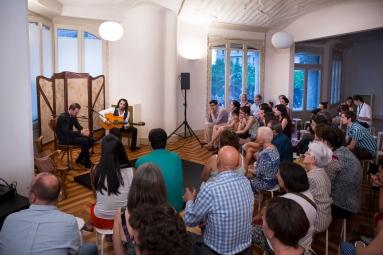 Foto Flamenco texto