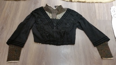 Cos de vestit de seda