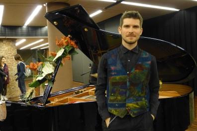 Marco Mezquida i el piano apadrinat