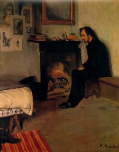 Santiago Rusiñol - Estudi d'Erik Satie