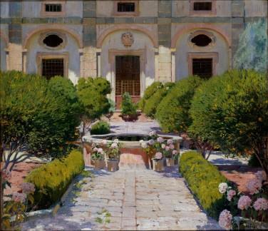 Santiago Rusiñol - Claustre de George Sand - 1905. ®MNAC