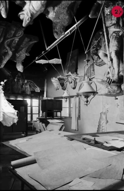 Fragment de l'audiovisual Apunt Biogràfic. El taller de Gaudí.