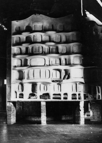 Maqueta de la façana feta pel guixaire Joan Beltran (1910)  © Càtedra Gaudí