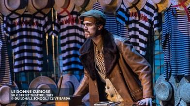 Josep-Ramon Olivé en el rol de Pantalone de Le donne curiose de Wolf-Ferrari.