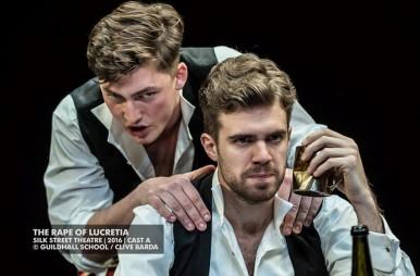 Josep-Ramon Olivé interpretant el rol de Tarquinius de The Rape of Lucretia de Britten