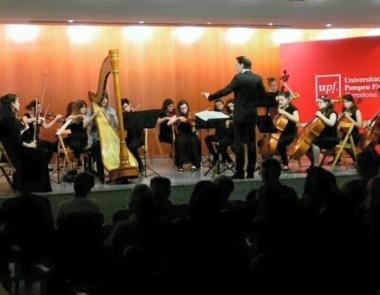 """Danses sacrées et profanes"" de Debussy a l'Auditori de la Universitat Pompeu Fabra"