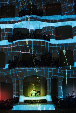 Espectacle Moviments Granados a La Pedrera el passat 12 de febrer. ©Fundació Catalunya-La Pedrera